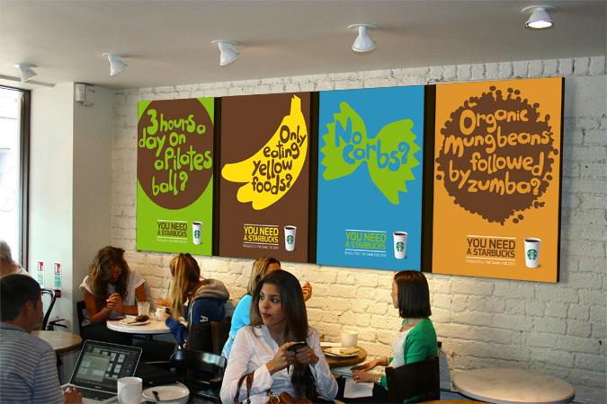 Starbucks posters